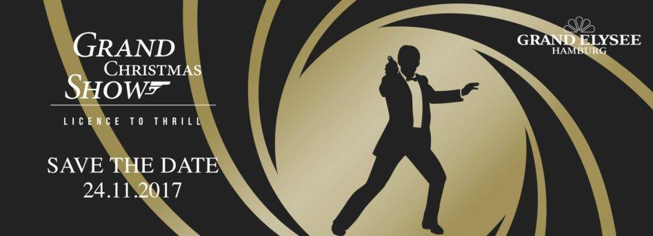 James Bond 007 German Fan Club, International Bond Society, Bondspirit, Termine, Grand Christmas Show 2017 in Hamburg