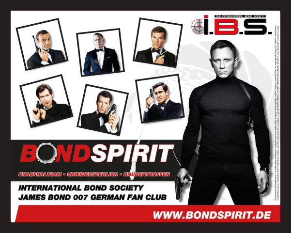 James Bond 007 German Fan Club, International Bond Society, Bondspirit, Besondere Merchandise, Limitiertes Mauspad # 001