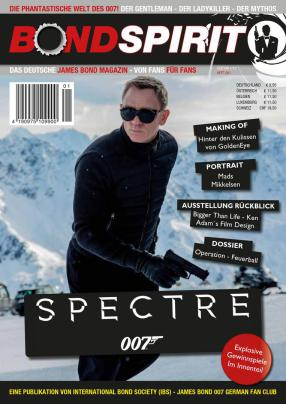 James Bond 007 German Fan Club, International Bond Society, Bondspirit, Ausgabe BS 001