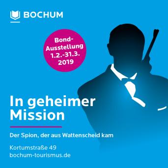 James Bond 007 German Fan Club, International Bond Society, Bondspirit, Termine, In geheimer Mission – Der Spion, der aus Wattenscheid kam