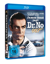 James Bond 007 German Fan Club, International Bond Society, Bondspirit, Filme, Die James Bond - Blurays für Zuhause, Dr. No