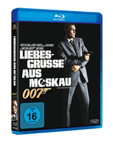 James Bond 007 German Fan Club, International Bond Society, Bondspirit, Filme, Die James Bond - Blurays für Zuhause, Liebesgrüsse aus Moskau