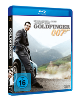James Bond 007 German Fan Club, International Bond Society, Bondspirit, Filme, Die James Bond - Blurays für Zuhause, Goldfinger