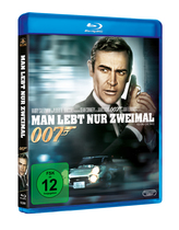 James Bond 007 German Fan Club, International Bond Society, Bondspirit, Filme, Die James Bond - Blurays für Zuhause, Man lebt nur zweimal