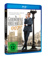 James Bond 007 German Fan Club, International Bond Society, Bondspirit, Filme, Die James Bond - Blurays für Zuhause, Im Geheimdienst Ihrer Majestät