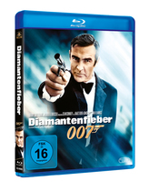 James Bond 007 German Fan Club, International Bond Society, Bondspirit, Filme, Die James Bond - Blurays für Zuhause, Diamantenfieber