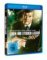 James Bond 007 German Fan Club, International Bond Society, Bondspirit, Filme, Die James Bond - Blurays für Zuhause, Leben und sterben lassen