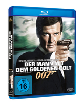 James Bond 007 German Fan Club, International Bond Society, Bondspirit, Filme, Die James Bond - Blurays für Zuhause, Der Mann mit dem goldenen Colt
