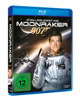 James Bond 007 German Fan Club, International Bond Society, Bondspirit, Filme, Die James Bond - Blurays für Zuhause, Moonraker