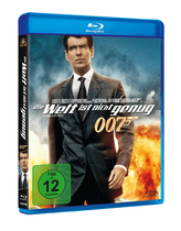 James Bond 007 German Fan Club, International Bond Society, Bondspirit, Filme, Die James Bond - Blurays für Zuhause, Die Welt ist nicht genug
