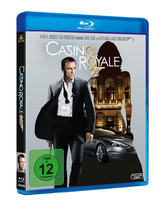 James Bond 007 German Fan Club, International Bond Society, Bondspirit, Filme, Die James Bond - Blurays für Zuhause, Casino Royale