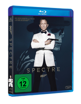 James Bond 007 German Fan Club, International Bond Society, Bondspirit, Filme, Die James Bond - Blurays für Zuhause, Spectre