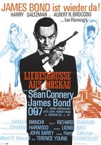 James Bond 007 German Fan Club, International Bond Society, Bondspirit, Galerie, Die James Bond - Hauptplakate aus Deutschland, Liebesgrüsse aus Moskau