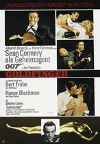 James Bond 007 German Fan Club, International Bond Society, Bondspirit, Galerie, Die James Bond - Hauptplakate aus Deutschland, Goldfinger