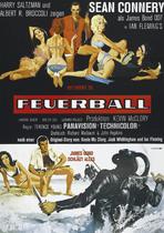 James Bond 007 German Fan Club, International Bond Society, Bondspirit, Galerie, Die James Bond - Hauptplakate aus Deutschland, Feuerball