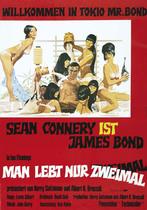 James Bond 007 German Fan Club, International Bond Society, Bondspirit, Galerie, Die James Bond - Hauptplakate aus Deutschland, Man lebt nur zweimal