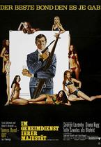 James Bond 007 German Fan Club, International Bond Society, Bondspirit, Galerie, Die James Bond - Hauptplakate aus Deutschland, Im Geheimdienst Ihrer Majestät