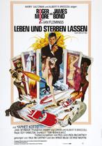 James Bond 007 German Fan Club, International Bond Society, Bondspirit, Galerie, Die James Bond - Hauptplakate aus Deutschland, Leben und sterben lassen