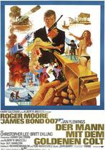 James Bond 007 German Fan Club, International Bond Society, Bondspirit, Galerie, Die James Bond - Hauptplakate aus Deutschland, Der Mann mit dem goldenen Colt