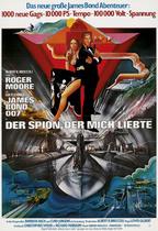 James Bond 007 German Fan Club, International Bond Society, Bondspirit, Galerie, Die James Bond - Hauptplakate aus Deutschland, Der Spion der mich liebte