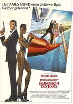 James Bond 007 German Fan Club, International Bond Society, Bondspirit, Galerie, Die James Bond - Hauptplakate aus Deutschland, Im Angesicht des Todes