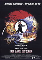 James Bond 007 German Fan Club, International Bond Society, Bondspirit, Galerie, Die James Bond - Hauptplakate aus Deutschland, Der Hauch des Todes