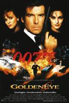 James Bond 007 German Fan Club, International Bond Society, Bondspirit, Galerie, Die James Bond - Hauptplakate aus Deutschland, GoldenEye