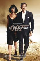 James Bond 007 German Fan Club, International Bond Society, Bondspirit, Galerie, Die James Bond - Hauptplakate aus Deutschland, Ein Quantum Trost