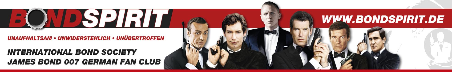Bondspirit, James Bond 007 German Fan Club, International Bond Society